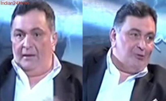 Pakistani news channel asks Rishi Kapoor, why did you call India Pak's father? Watch video