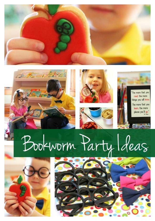 Bookworm Birthday {Book Party Ideas} - Spaceships and Laser Beams