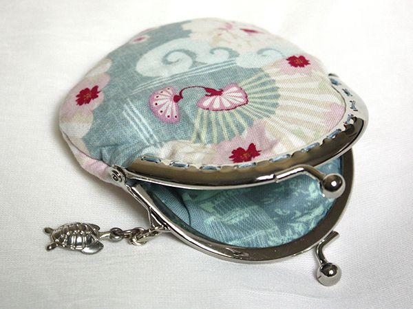 Japanese style retro coin purse turtle pendant