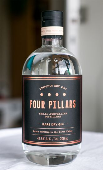 Four Pillars Rare Dry Gin. Photo by Michael Sperling PD