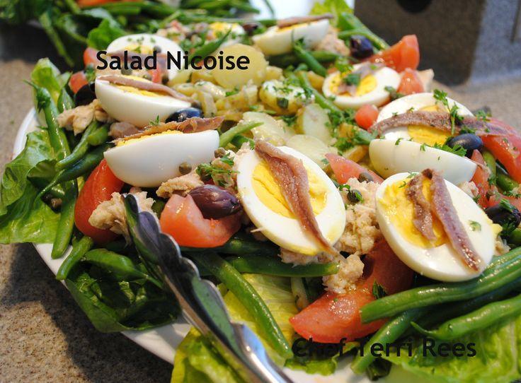 Classic Salad Nicoise | Classic Julia Child - Salad Nicoise | Mmmm ...