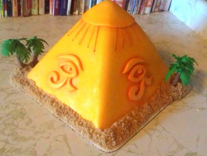 How To Make A Pyramid Cake From Scratch