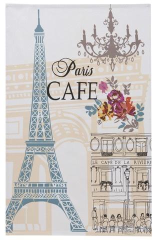 Parisian tea towel with Eiffel Tower design