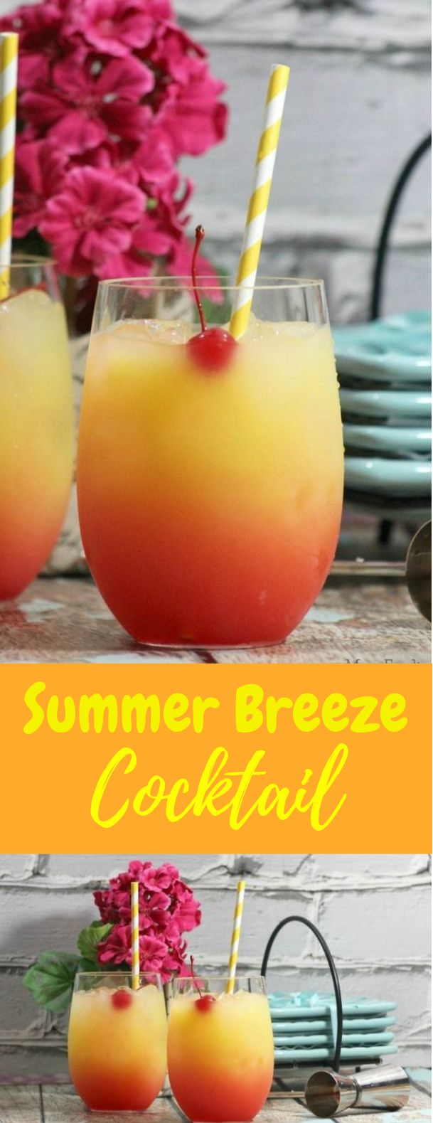 Summer Breeze Cocktail Recipe #Summer #Cocktail