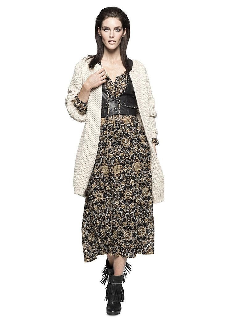 Boho-Hype | City-BOHO |  Lady | womenswear | Fashion | premium | dress | cardigan | PKZ |  buy here --> http://goo.gl/6B3BAb