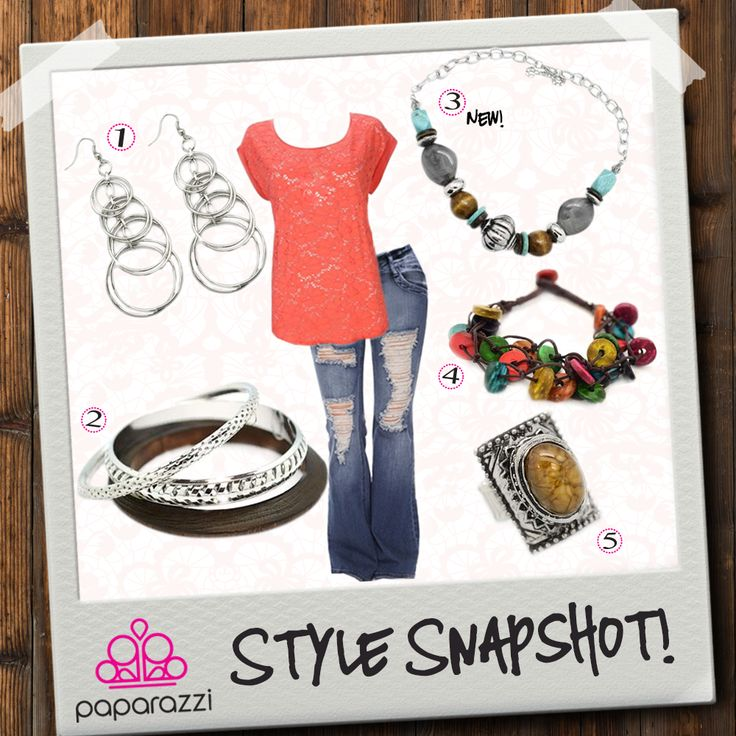 { Style Snapshot } Summer may be coming to an end, but there's still time to enjoy one of its hottest colors: Nectarine!