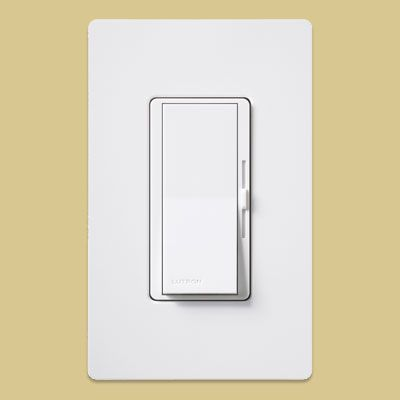 Install a dimmer switch in your dining room to set the mood—and save energy. You can even get them in colors to match your wall or trim paint.    Estimated cost: Lutron's Diva C.L dimmer, starting around $31, including a tinted switch cover; Pro Lighting