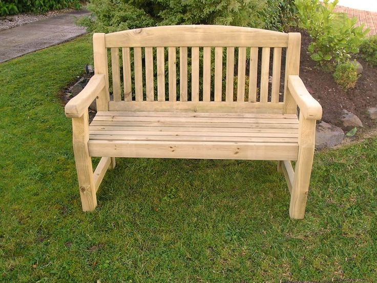 Athol Chunky 4 Foot Wooden Garden Bench Brand New **WINTER SALE - REDUCED** | Garden & Patio, Garden & Patio Furniture, Garden Benches | eBay!