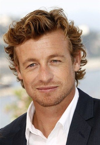 Simon Baker. I hope he doesn't have work done. He just gets better and better.