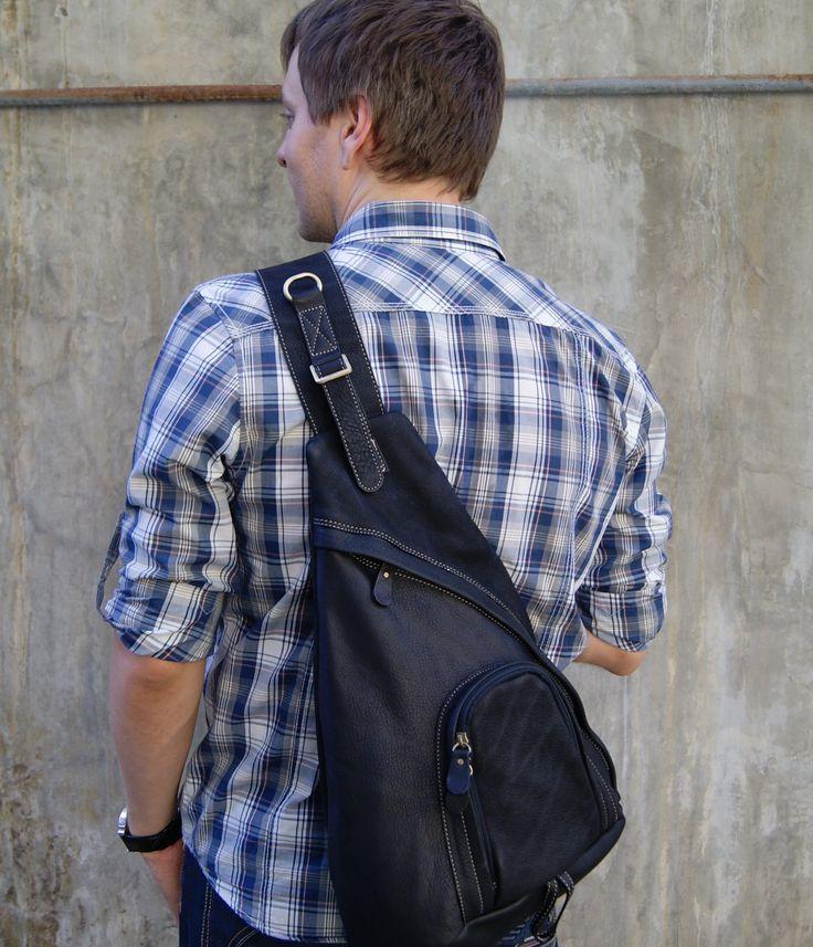 Черный мужской рюкзак Bufalo BPJ16 - Интернет-магазин - Bufalo