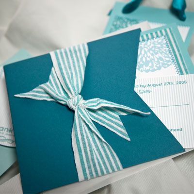 A Searsucker Wedding by Farewell Paperie, via Flickr