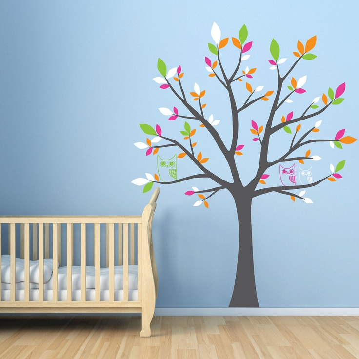 Such A Cute Tree For Nursery Or Small Child S Room Love The Owl