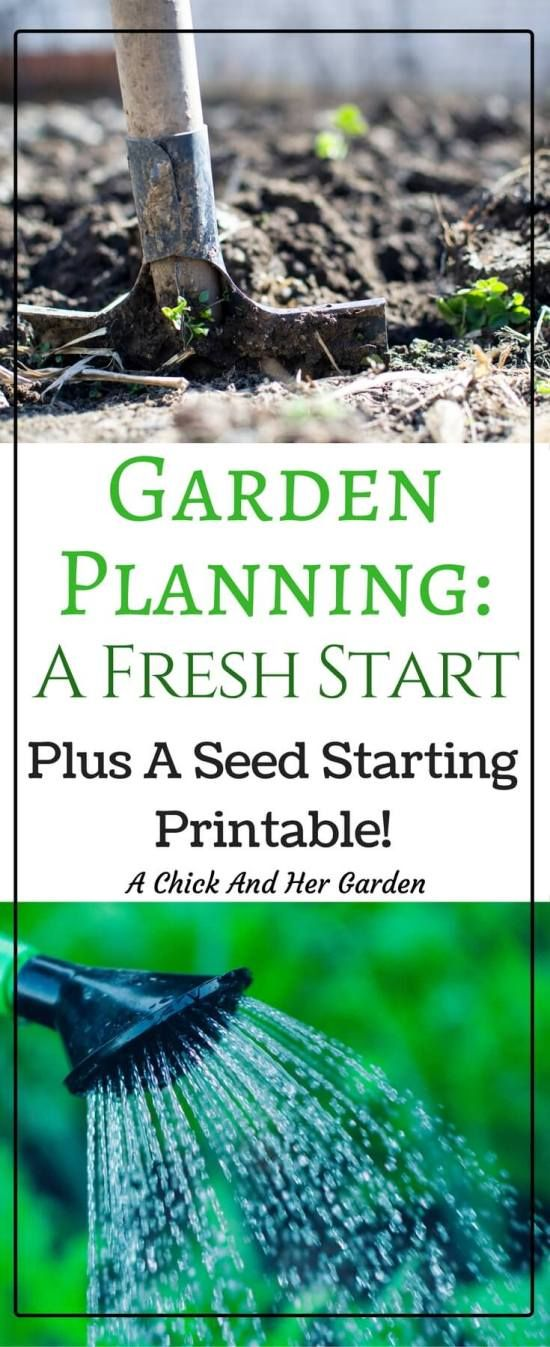 Before this year I spent haphazardly on my garden. It's so easy to browse seed catalogs or walk through the gardening section of the store and just grab a bit of everything! Until I made this plan! This seed starting printable saved me so much this year!