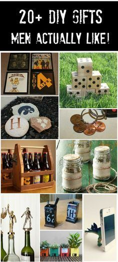 20+ Handmade Gifts Guys will Actually Like Christmas Pinterest