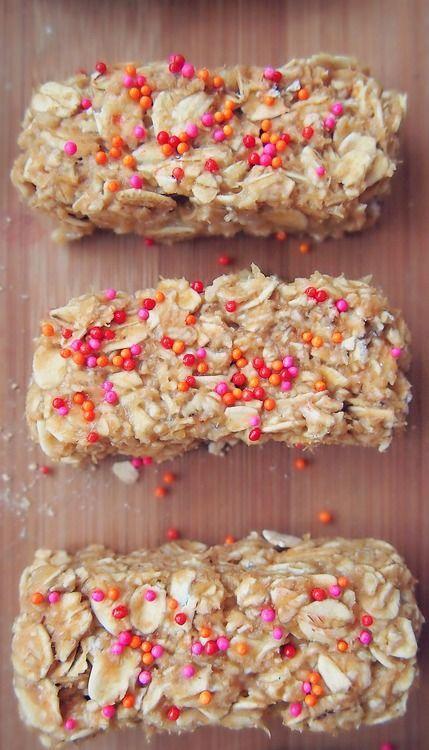 No-Bake PB2 Banana Oat Energy Bars! Gluten Free, Vegan, Dairy Free, Organic,