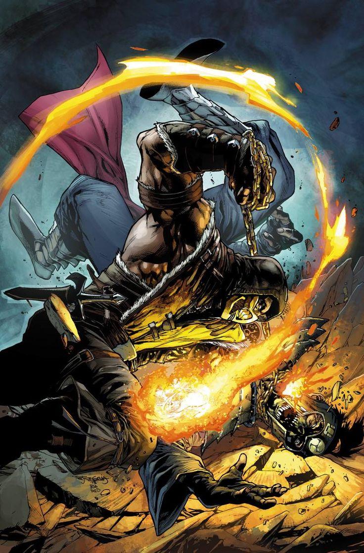 Mortal Kombat X #8 by Stephen Segovia, colours by Rod Reis *