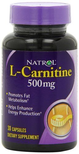 Natrol L-Carnitine 500mg Capsules, 30-Count //Price: $7.87 & FREE Shipping //     #hashtag2