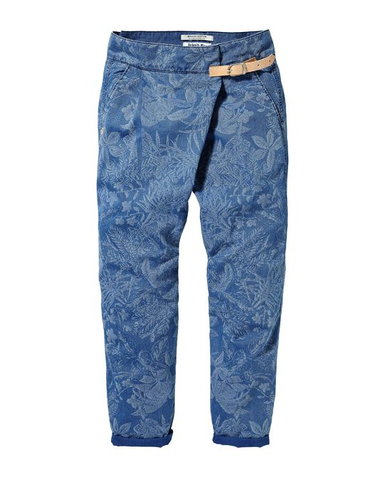 Wikkelbroek | Denims - Non Fashion | Dameskleding bij Scotch & Soda