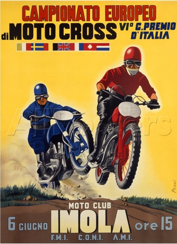 Championat d'Europe de moto cross - Imola
