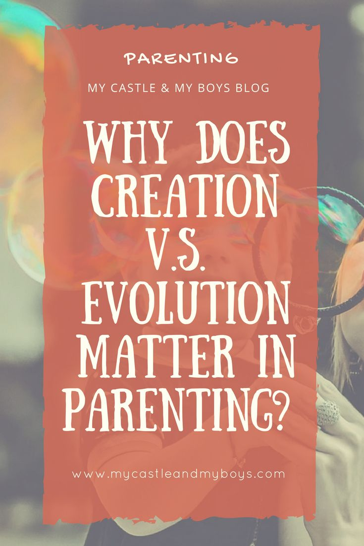 """Have you been in a situation where you are lost with answers when your children asked you about """"scientific"""" questions such as creation v.s"""