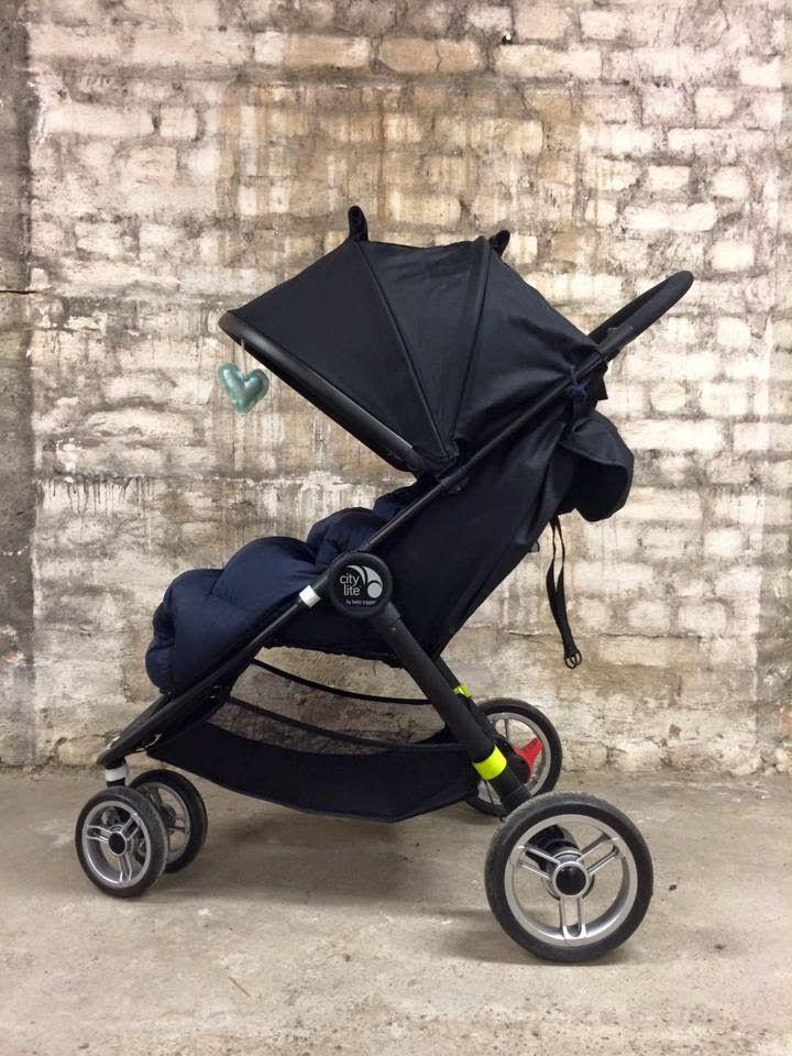 BarnevognVerksted: Babyjogger City Lite: styrer til side