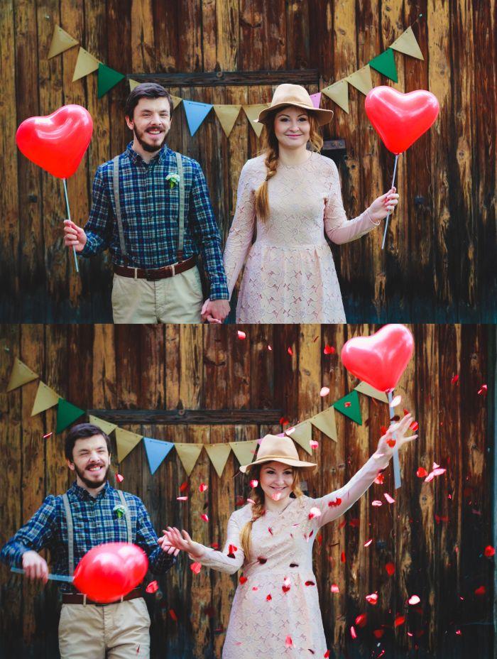 Engagement photo shoot.