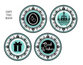 Free Tiffany party printables, plus extras!