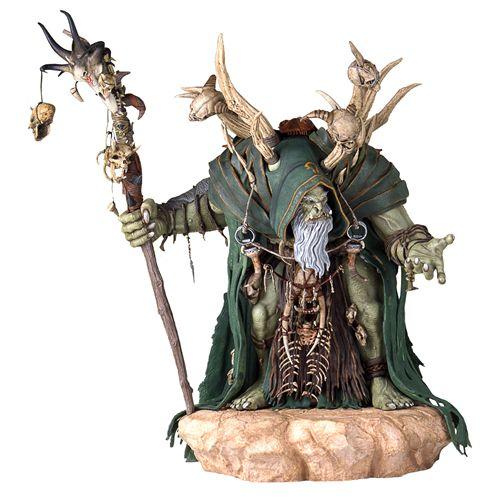 BLOG DOS BRINQUEDOS: Warcraft Movie GulDan Statue