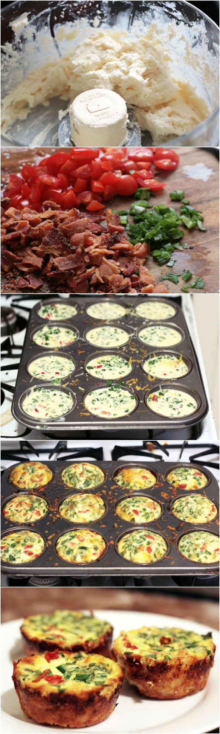 Easy Mini Quiche Recipe that you can fill with your favorites