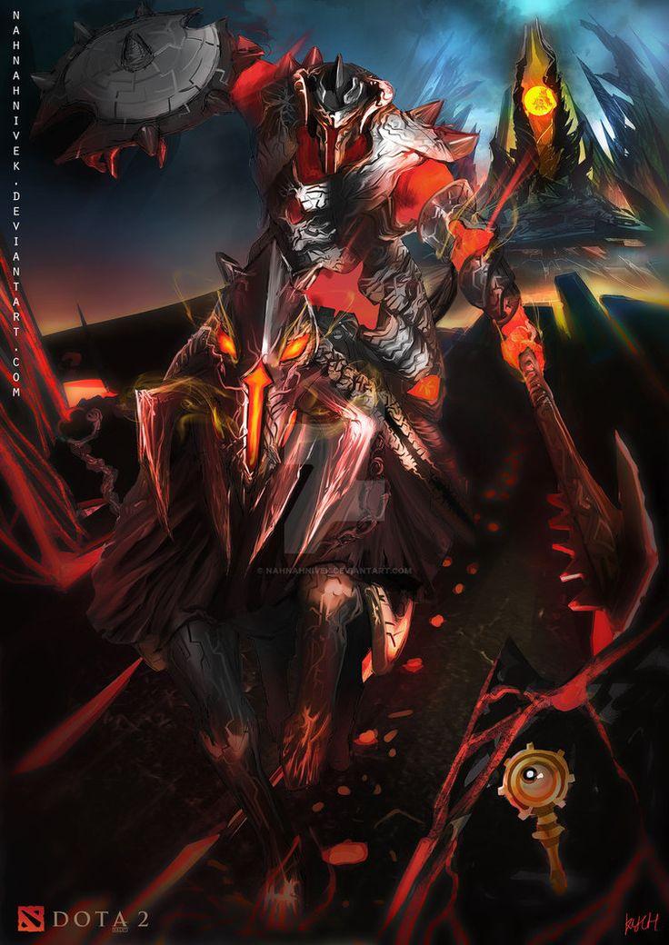 Dota 2 Chaos Knight by nahnahnivek