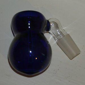 Bongkopp med askstopp - blå
