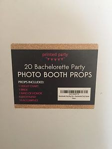 Bachelorette Mug Shot Signs And Height Backdrop Photobooth Props Party Games  | eBay