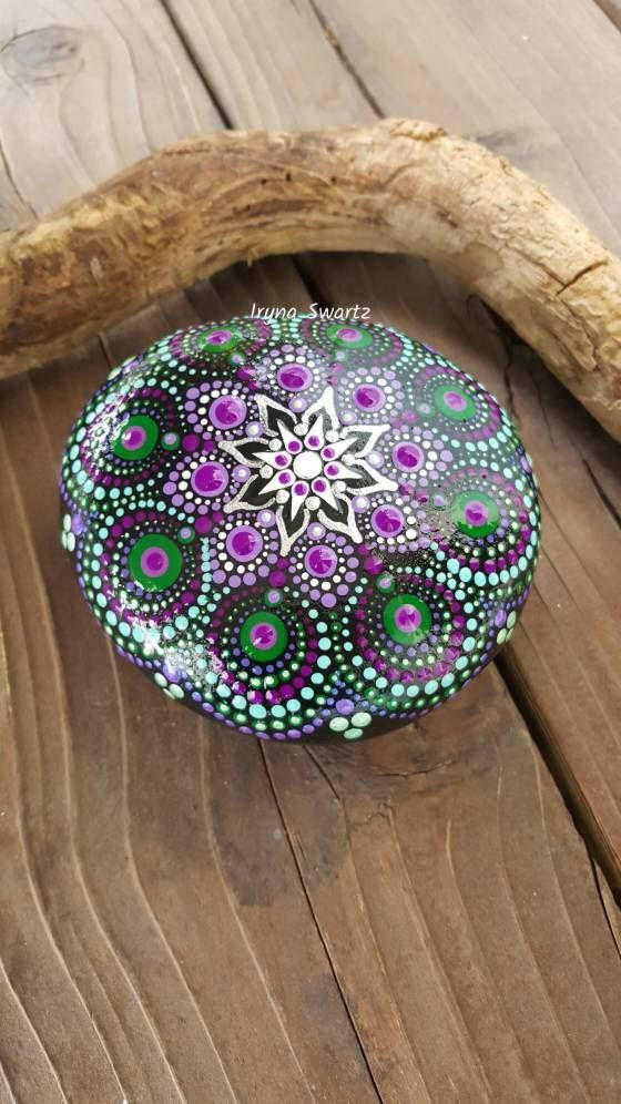 Check out this item in my Etsy shop https://www.etsy.com/listing/552965653/mandala-rock-handmade-painted-rocks