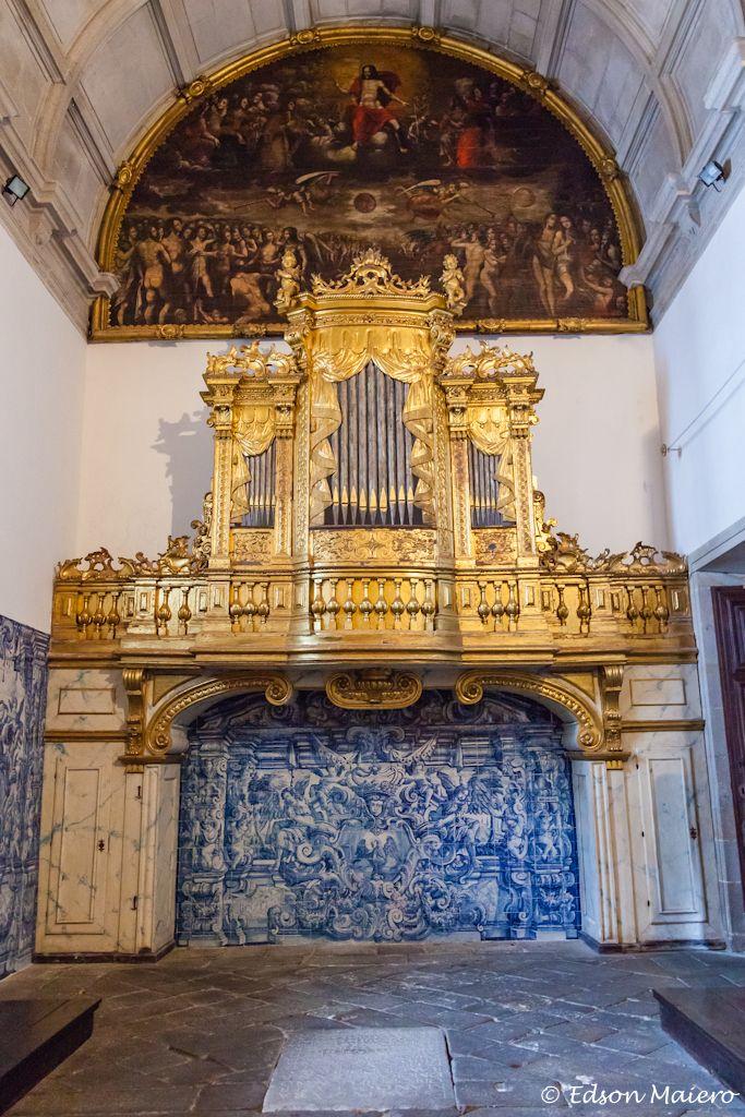 Catedral da Sé: Capela de São Vicente: órgão de tubos