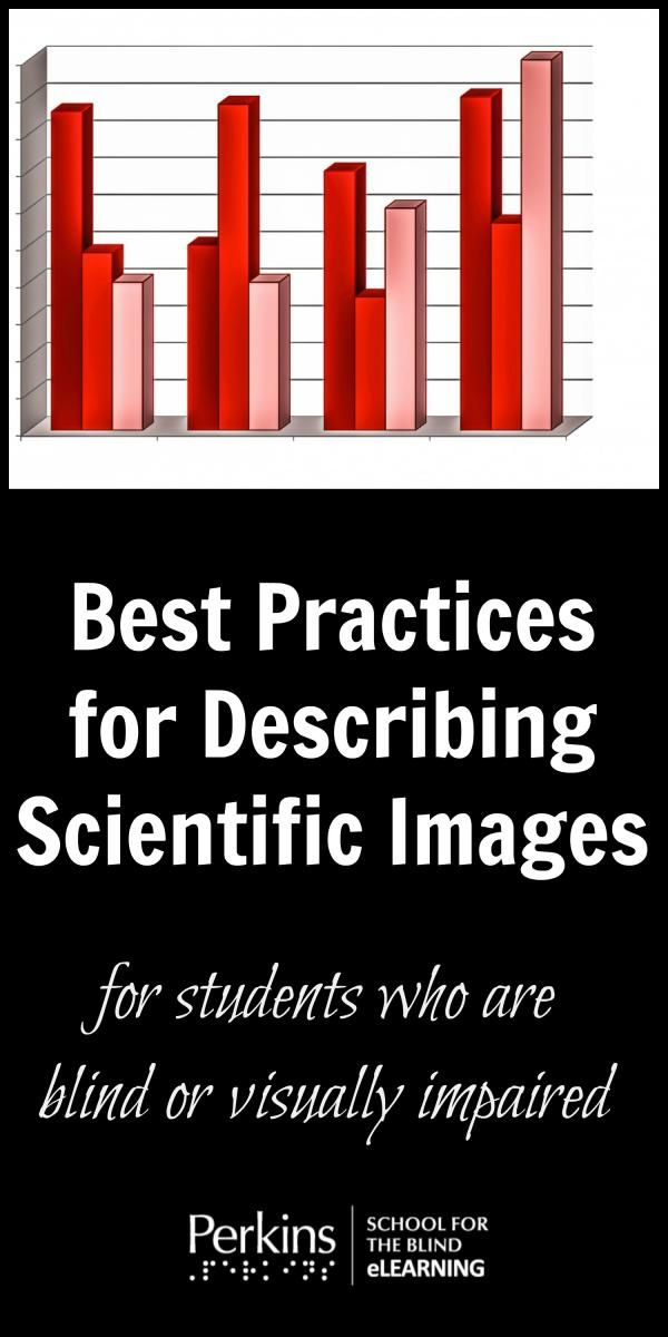 Best practices for describing scientific images for students who are blind or visually impaired