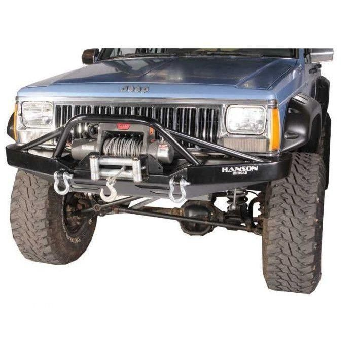Hanson Xj Stinger Front Winch Bumper Jeep Xj Winch Bumpers Jeep