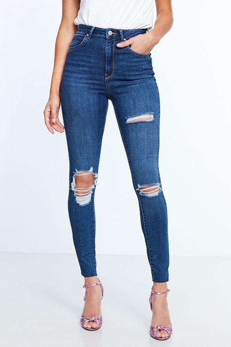 Gina curve jeans 499.00 NOK, High waist jeans - Gina Tricot  Str.38