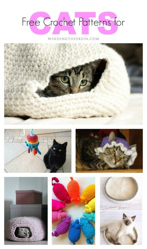 Free Crochet Patterns for cats