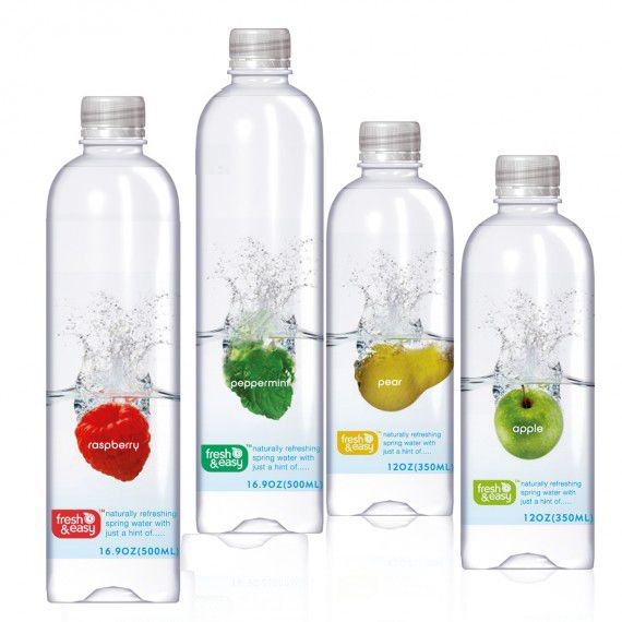 fresh & easy beverage packaging