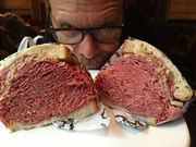 CLEVELAND, Ohio — Cleveland restaurants made quite the impression on Food Network star Alton Brown when he visited the 2-1-6 in November— more specifically, Noodlecatand Slyman's Deli. Brown was in town with hisEdible Inevitable Tour at Playhouse Square Nov. 7....