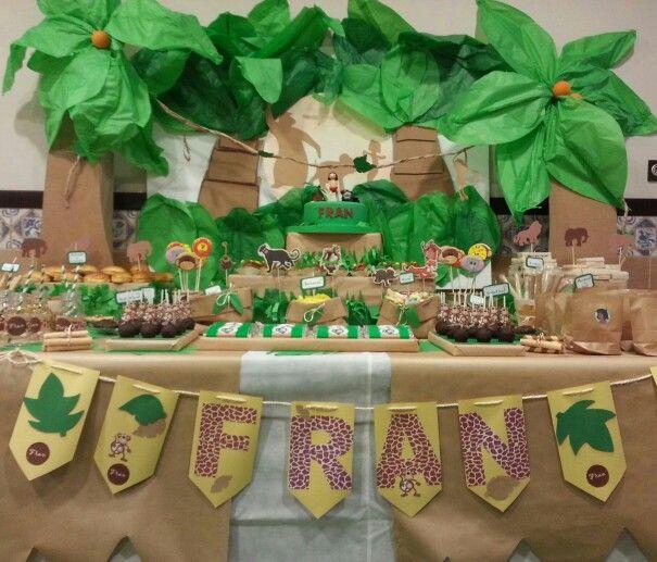 Diseño y decoración de eventos # sevilla # cumpleaños# libro de la selva