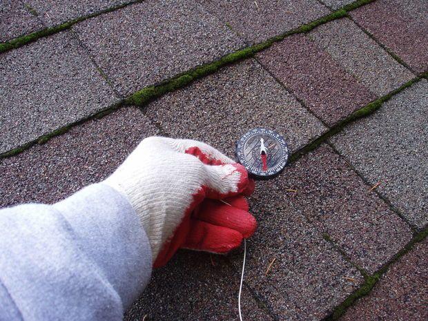 DIY roof leak fix