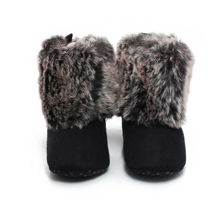 Delebao 2016 New Design Baby Boots Downy Soft Winter Warm Baby Girls Shoes For 0-2 Years Fashion Baby Shoes Factory Wholesale