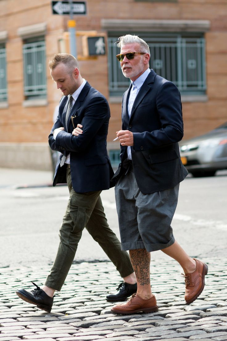 Matt Sebra and Nick Wooster at Industria Studios. Photo by Marcy Swingle for The New York Times