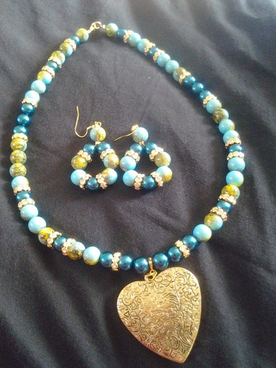 Turquoise Dream by LaFashioniStar on Etsy, $29.99