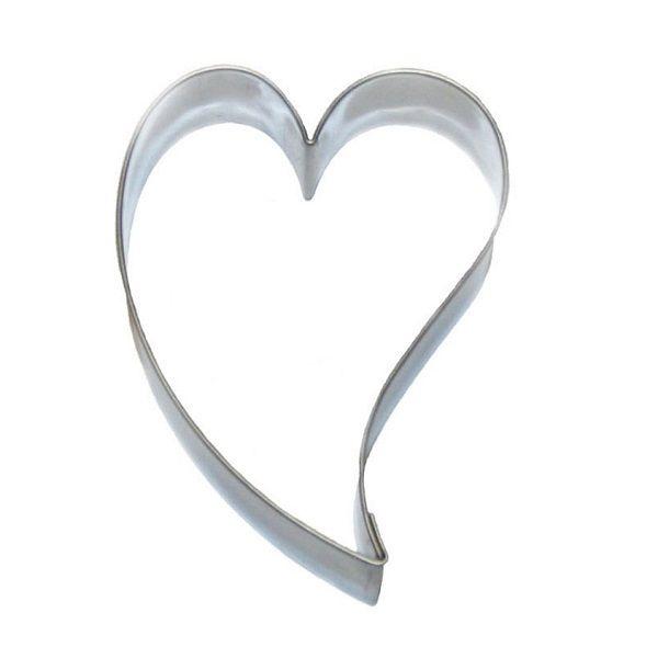 Geschwungenes Herz Ausstecher Herz Ausstecher Modellierschokolade Torten Figuren