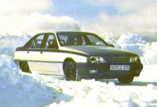 OG | 1987 Opel Omega A | Running prototype