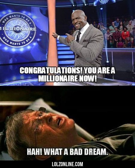 Congratulations! You Are A Millionaire Now!#funny #lol #lolzonline