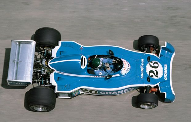 Jacques Laffite  Ligier - Matra 1976