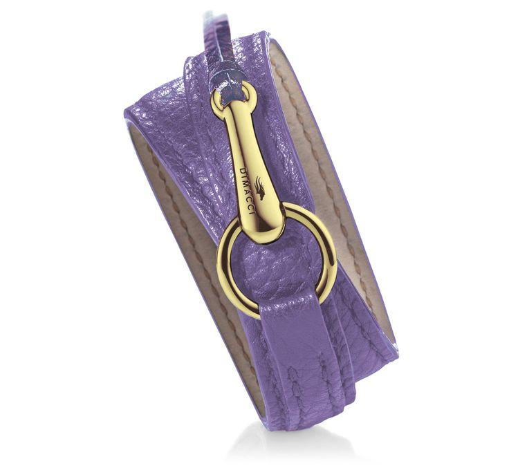 Monsun Leather Wrap Bracelet - Gold Clasp